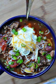 Crock-Pot Recipe Contest & Chili Recipe - Crock-Pot Giveaway!