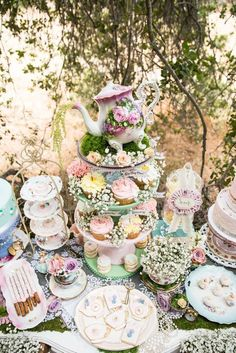 OC Vintage Charm's Tea Party / Tea Party - Photo Gallery at Catch My Party