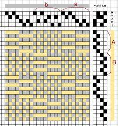Diseño para crochet tapiz