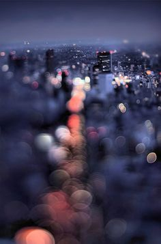 Focus on Blur: Bokeh Cityscapes Celebrate Color & Light