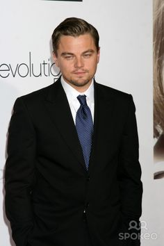 "Leonardo DiCaprio arriving at the World Premiere of ""Revolutionary Road"" at the Mann's Village Theater in Westwood, CA on December 15, 2008"
