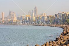 Mumbai capital of India skyline   Stock Photo Deposit Photos