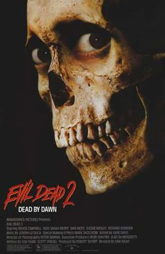 (1987) Evil Dead 2 - Relentless horror comedy. One of the greatest of all time. Exhilarating at times, like Dead Alive. I'm still laughing to bits watching this in 2015. Creativity all the way. I could include the original trilogy but this is still my favourite of the 3.