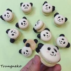 Chào ! Mình là gấu trúc :) #panda #macaron ^^ #macarons #dessert #delicious #yummy #tasty #foodporn #instafood #cake #homemade #handmade #マカロン#美味しい#デザート#手作り#菓子#ケーキ#ベーキング#bánh #ngon#おやつ#cakes #homebaking#スイーツ #cute#カワイイ#パンダ #gấu #savourydays