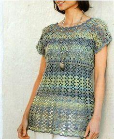 15 Elegant Crochet Tunics With Diagrams                                                                                                                                                      More