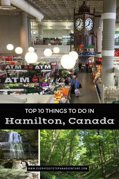 Top 10 Things to D… Hamilton, Canada has everything from history to music to food to nature. And with over 100 waterfalls in the area, there is definitely no shortage of waterfalls either! Check out my picks of the 10 BEST things to do when in Hamilton! Toronto, Stuff To Do, Things To Do, Ontario Travel, Canada Destinations, Canadian Travel, Travel Guides, Travel Tips, Travel Around The World