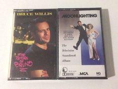 Vintage Bruce Willis Return of Bruno Moonlighting Soundtrack Cassettes Lot of 2   Music, Cassettes   eBay!