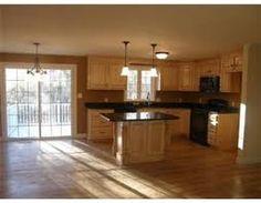 Split entry kitchen remodel