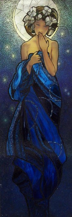 Mucha's Night Sky Flickr by Emerald Dragon (Kathleen)