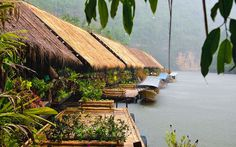 Floating hotels around the world, from luxury houseboats and water villas to rainforest lodges and jungle rafts.
