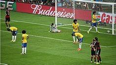 Semifinal - Brasil 1 x Alemanha 7