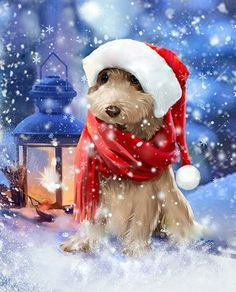 YIKEE diamond painting home dog Square Diamond Embroidery Sale Diamond Art Mosaic Crystal Handicraft Wall Christmas Scenes, Christmas Dog, Christmas Ideas, Christmas Cards, Merry Christmas, Cute Clipart, 5d Diamond Painting, Diamond Art, Drawing Skills