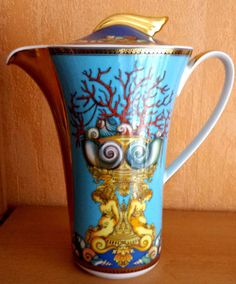 Versace / Rosenthal / Kaffeekanne 25 cm / Versace Les Tresors de la Mer | eBay