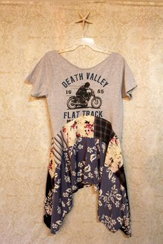 Boho Dress, Bohemian Junk Gypsy Style, Cowgirl Country Girl, Rocker Music Fest Chic, Coachella