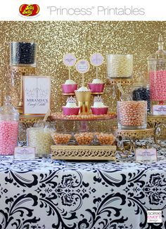 | FREE Birthday Party Printables Designed Exclusively for Jelly Belly | http://soiree-eventdesign.com