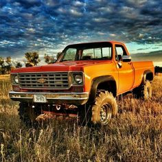 A truck is a beautiful thing. It is simple and useful – like our dads and granddads were. Trucks are tough, sturdy and reliable. Sure, they get poor. Chevy Pickup Trucks, Lifted Chevy Trucks, Classic Chevy Trucks, Gm Trucks, Chevy Pickups, Diesel Trucks, Cool Trucks, Lifted Ford, Jeep 4x4