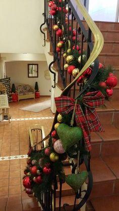 #Weihnachtsdekoration Christmas Wreaths, Holiday Decor, Home Decor, Xmas, Christmas Decor, Christmas Garlands, Homemade Home Decor, Holiday Burlap Wreath, Decoration Home