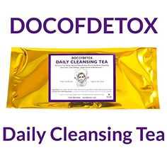 Doc Of Detox Daily Detox Tea, Weight Loss Tea, Teatox Herbal Tea for Cleanse Weight Loss Tea, Lose Weight, Weights For Sale, Natural Cleanse, Liver Detox, Herbal Tea, Detox Tea, Detox Drinks, Herbalism