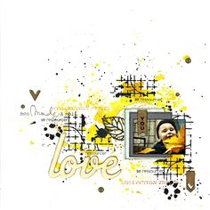 Le scrap de Lalaith: Love [DT Filandscrap]
