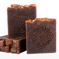 Cocoa soap from Inaya Zanzibar.