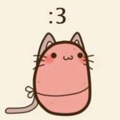 kawaii pin: if only my potatoes were as cute as this :P Cartoon Potato, Potato Funny, Cute Potato, Tiny Potato, Chibi, Kawii Potato, Potato Drawing, Happy Potato, Potato Girl