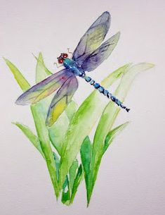 Dragonfly Paintings Images - 544 Best Dragonfly Painting Images Dragonfly Art Beautiful Bugs Dragonfly Painting By Clint Eagar Saatchi Art 121 Best Dragonfly Painting Images Drago. Art Aquarelle, Art Watercolor, Watercolor Animals, Watercolor Flowers, Watercolour Butterfly, Watercolour Paintings, Watercolor Portraits, Watercolor Landscape, Abstract Paintings