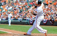 Chris Davis hits a home run