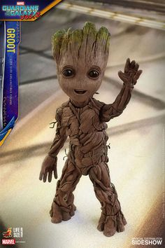Baby Groot Life-Size Figure http://geekxgirls.com/article.php?ID=8631