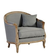 Gray Sofia Chair