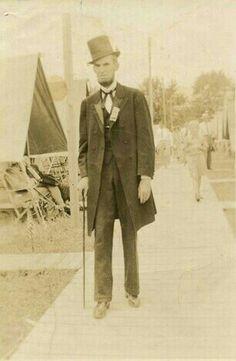 Abraham Lincoln....