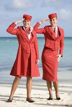 Martinair hostesses