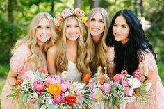 Beautiful blooms: http://www.stylemepretty.com/2014/10/04/rustic-wedding-with-pops-of-pink/ | Photography: Haley Rynn Ringo - http://haleyringo.com/
