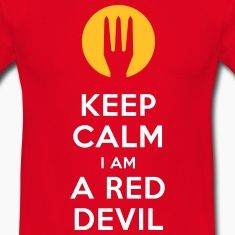 keep calm i am a red devil