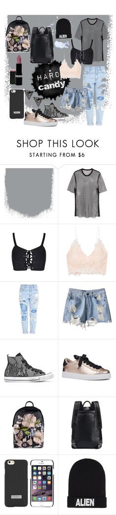 """HARD candy"" by grashislifexo ❤ liked on Polyvore featuring Joseph, Rime Arodaky, Converse, Nine West, Ted Baker, Nicopanda and Boohoo"
