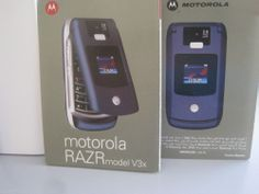 Motorola RAZR V3x Black Unlocked 3G Cellular Phone, WORKING, Poor Cosmetic Cond. #Motorola #Flip