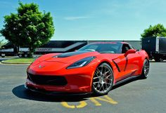 It's been a while since we last heard from Lingenfelter, but the tuning firm, based in Brighton, Michigan, has been toiling away on some interesting new products. One of these is a new wide-body kit designed for the seventh-generation Corvette. Chevrolet Corvette, Performance Exhaust, Performance Parts, My Dream Car, Dream Cars, Wide Body Kits, Pontiac, Lux Cars, Sport Cars