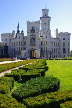 Hluboka nad Vltavou, Czech Republic. Was there during my study abroad. Beautiful structure.