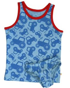Frugi Tractor underwear...perfect for potty training?