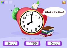 Time Match game from Starfall (for preschool age kids)