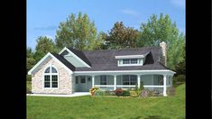 Awesome southern House Plans with Porches Southern House Plans with Porches . Awesome southern House Plans with Porches . House Style southern Cottage Room Story Plans E Inspiring One Level House Plans, House Plan With Loft, Porch House Plans, Rustic House Plans, Farmhouse Floor Plans, Basement House Plans, Southern House Plans, Cottage House Plans, Craftsman House Plans