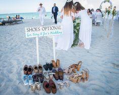 Beach Wedding Signs, Simple Beach Wedding, Beach Wedding Colors, Beach Wedding Decorations, Tent Wedding, Dream Wedding, Beach Wedding Ideas On A Budget, Beach Wedding Groom Attire, Cancun Wedding