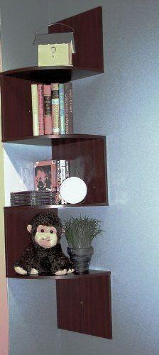 4D Concepts Hanging Corner Storage, C...