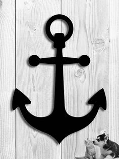 Ships' Anchor Nautical Decoration - 20 w x 28 h - Metal Wall Art - Steel Steel Art, Steel Metal, Sea Theme Bedrooms, Art En Acier, University Of Rhode Island, Anchor Art, Grace Art, Wood Artwork, Lake Decor