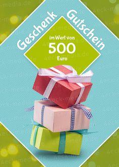 Designvorlagen für Geschenkgutscheine