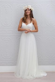 Marie Laporte robe de mariee 2015 - La Fiancee du Panda blog mariage Primevere_1face