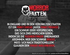 Ist der Finger oben wird man dich loben.. #horrorfakten
