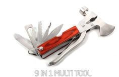 1 pcs of 9 in 1 Multi Tool Aux Hammer Camping portable pouch pocket survival Camping, Knives And Tools, Garden Tools, Survival, Pouch, Pocket, Hiking, Ebay, Crafts