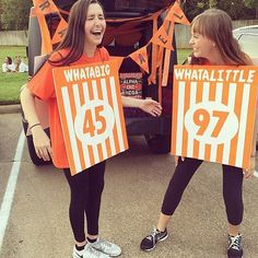 Whataburger themed big/little reveal. #TSM