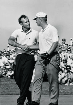Arnold Palmer and Jack Nicklaus