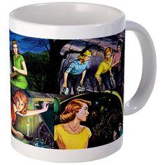 11 oz Ceramic Mug Nancy Drew Mug by Nancy Drew Sleuths Shop - CafePress Nancy Drew Mystery Stories, Nancy Drew Mysteries, Wanted Songs, Nancy Drew Books, Film Stills, Mug Shots, Fiction Books, Book Worms, 1960s